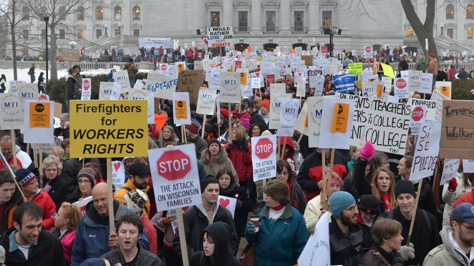 Wisconsin Rising - The Workers' Resistance Movement