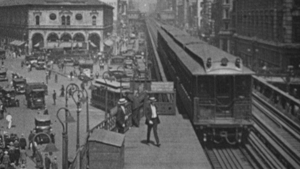Scenes from Ford Educational Weekly of Manhattan (c.1916-1927) - 4 films