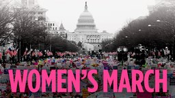 Women's March - Women Protesting for Democracy and Human Rights